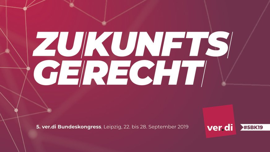 #5BK19 ver.di Bundeskongress